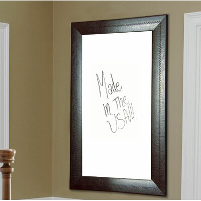 3m Dry Erase Board Melamine Mahogany Frame Wall Mounted Whiteboard