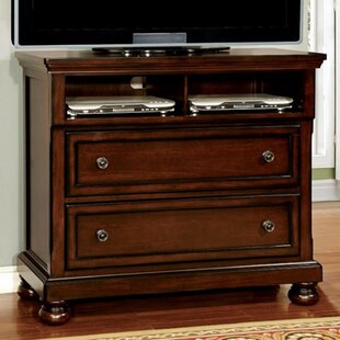 Erbe Wooden Media 2 Drawer Standard Dresser