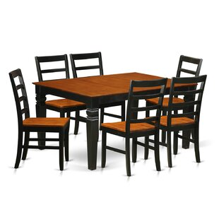 Channing 7 Piece Dining Set by Red Barrel..
