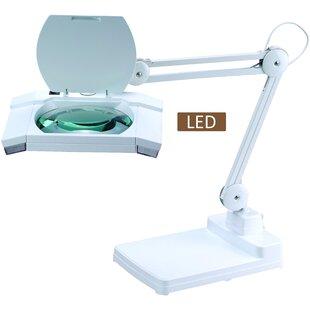 Multi-Function Full Spectrum LED Magnifying Task 31 Desk Lamp
