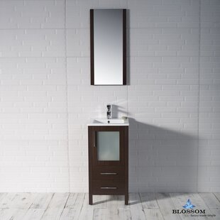 Mance 16 Single Bathroom Vanity Set with Mirror by Orren Ellis