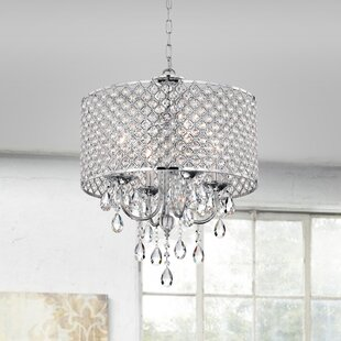 Aldgate 4-Light Crystal Chandelier by Wil..
