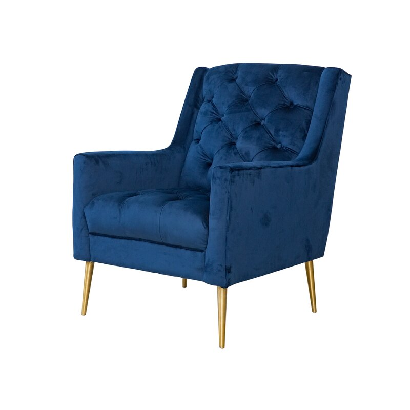 Delvale Tufted Wingback Chair