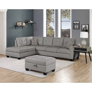 Qdees Modular Sectional with Ottoman