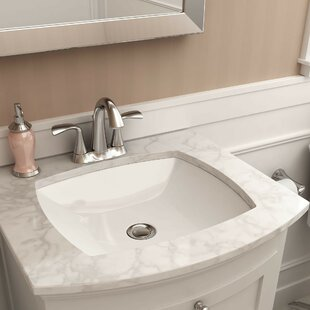 save american standard edgemere vitreous china rectangular undermount bathroom sink - Bathroom Undermount Sinks