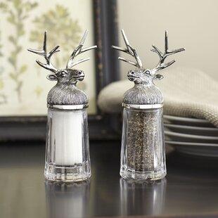 Fairbanks Reindeer Salt & Pepper Shakers