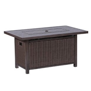Vicki Aluminum Propane Gas Fire Pit Table