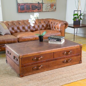 Emery Steamer Coffee Table by Home Loft Concepts