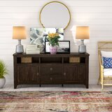 Cadwallader Solid Wood TV Stand for TVs up to 78 by Darby Home Co