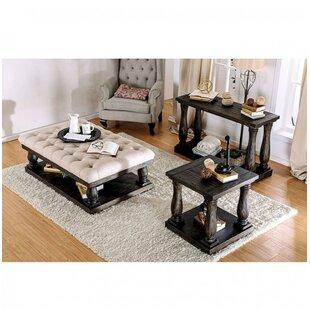 Canora Grey Blackfriars 3 Piece Coffee Table Set