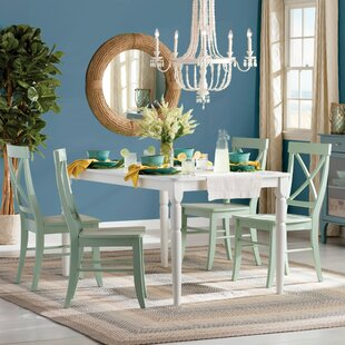 Brookwood 5 Piece Dining Set by Beachcrest Home
