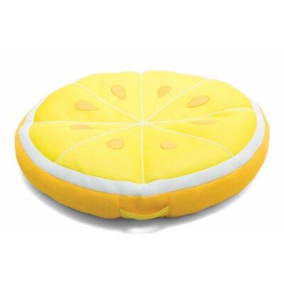 Big Joe Fruit Slice Pool Lounger Big Joe Color: Lemon