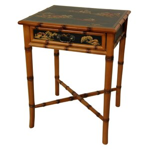 Ching End Table by Oriental Furniture