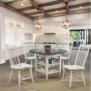 Reach 5 Piece Drop Leaf Dining Set Gracie Oaks