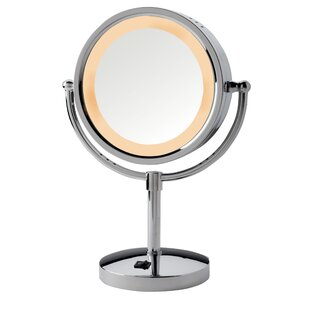 Symple Stuff Contemporary Lighted Vanity Mirror