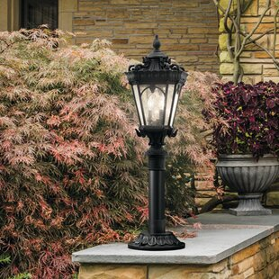 Reviews Guzzi Outdoor 4-Light Lantern Head By Fleur De Lis Living