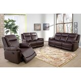 Valmy 3 Piece Reclining Living Room Set (Set of 10) by Red Barrel Studio®