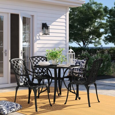 Carmen 5 Piece Dining Set by Sol 72 Outdoor Purchase