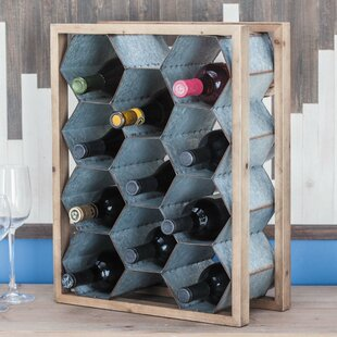 Dombrowski 11 Bottle Tabletop Wine Rack