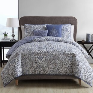 Middleburg Reversible Duvet Cover Set by Alcott Hill Best