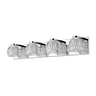 Price Check Mills 4-Light LED Vanity Light By Ebern Designs