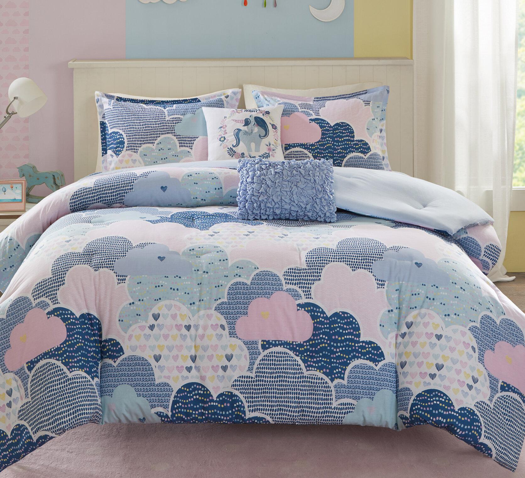 Viv Rae Karen Reversible Comforter Set Reviews Wayfair