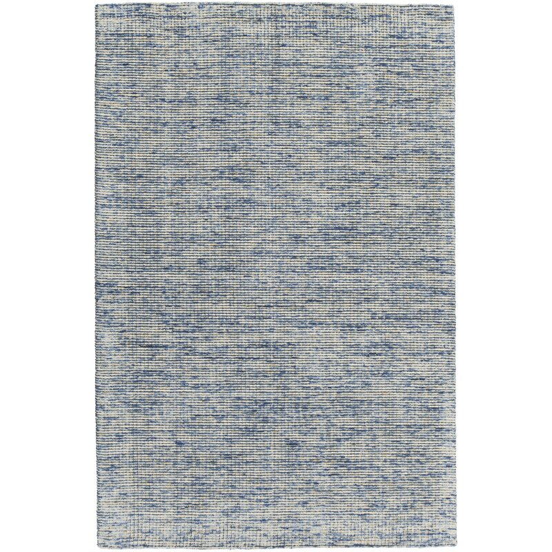 Rosecliff Heights Cunningham Hand Woven Blue Area Rug Wayfair