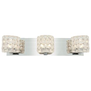 Orren Ellis Jimenez 3-Light Vanity Light