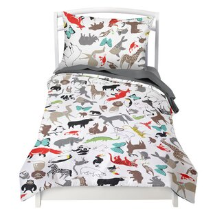 Duvet Cover Set by Where the Polka Dots Roam 2019 Sale