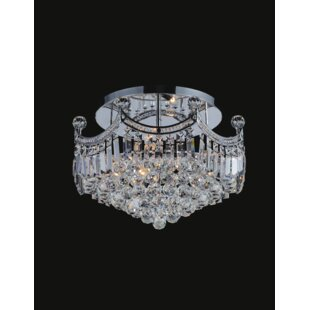 CWI Lighting Amanda 6-Light Semi Flush Mount