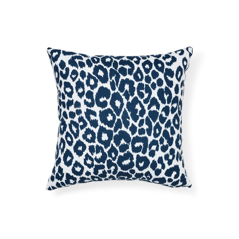 Schumacher Iconic Leopard Indoor Outdoor Animal Print Throw Pillow Perigold