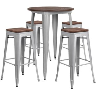 Malbon 5 Piece Pub Table Set