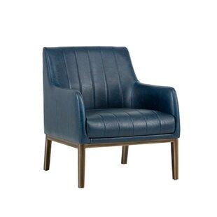 Irongate Wolfe Lounge Chair by Sunpan Modern