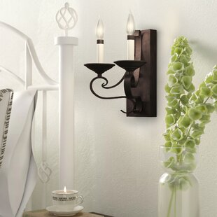 Order Trevelon 2-Light Candle Wall Light By Gracie Oaks