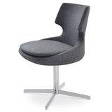 Patara Swivel 21.5 Side Chair by sohoConcept