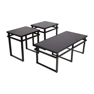 Ebern Designs Julio 3 Piece Coffee Table Set (Set of 3)