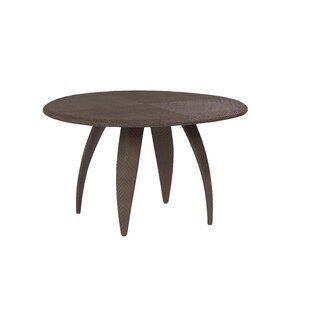 All-Weather Plastic/Resin Dining Table by Woodard
