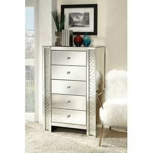 Lore 5 Drawer Chest by Rosdorf Park Today Only Sale