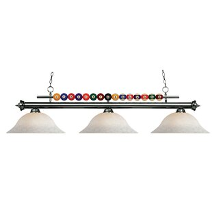 Red Barrel Studio Chapa 3-Light Pool Table Light