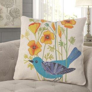 Hayward Bird Throw Pillow