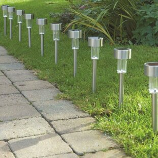 10 Light LED Pathway Light (Set Of 10) By Sol 72 Outdoor