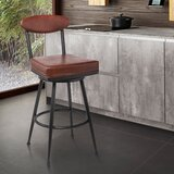Wabasso Bar & Counter Swivel Stool by Red Barrel Studio®