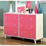 Chatwin 6 Drawer Double Dresser by Harriet Bee
