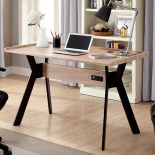 Compare Ammon Mid-Century Modern Writing Desk ByBrayden Studio