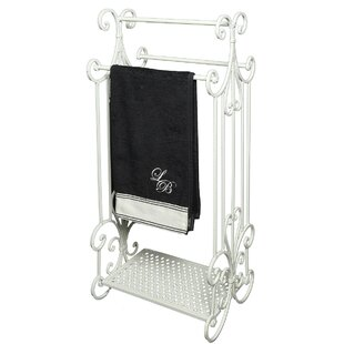 Aaru Free Standing Towel Rail By Lily Manor