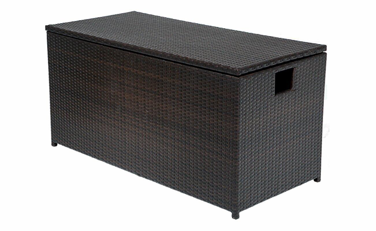Sol 72 Outdoor Fernando 50 Gallon Resin Deck Box