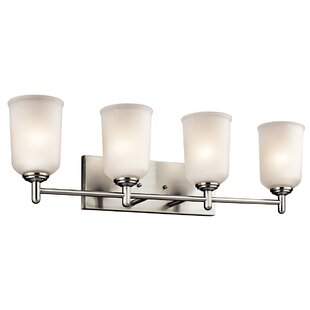 Coupon Hopedale Wall Mount 4-Light Vanity Light By Latitude Run