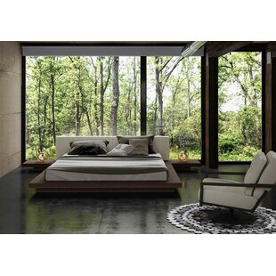 Coalville Upholstered Platform Bed by Wade Logan