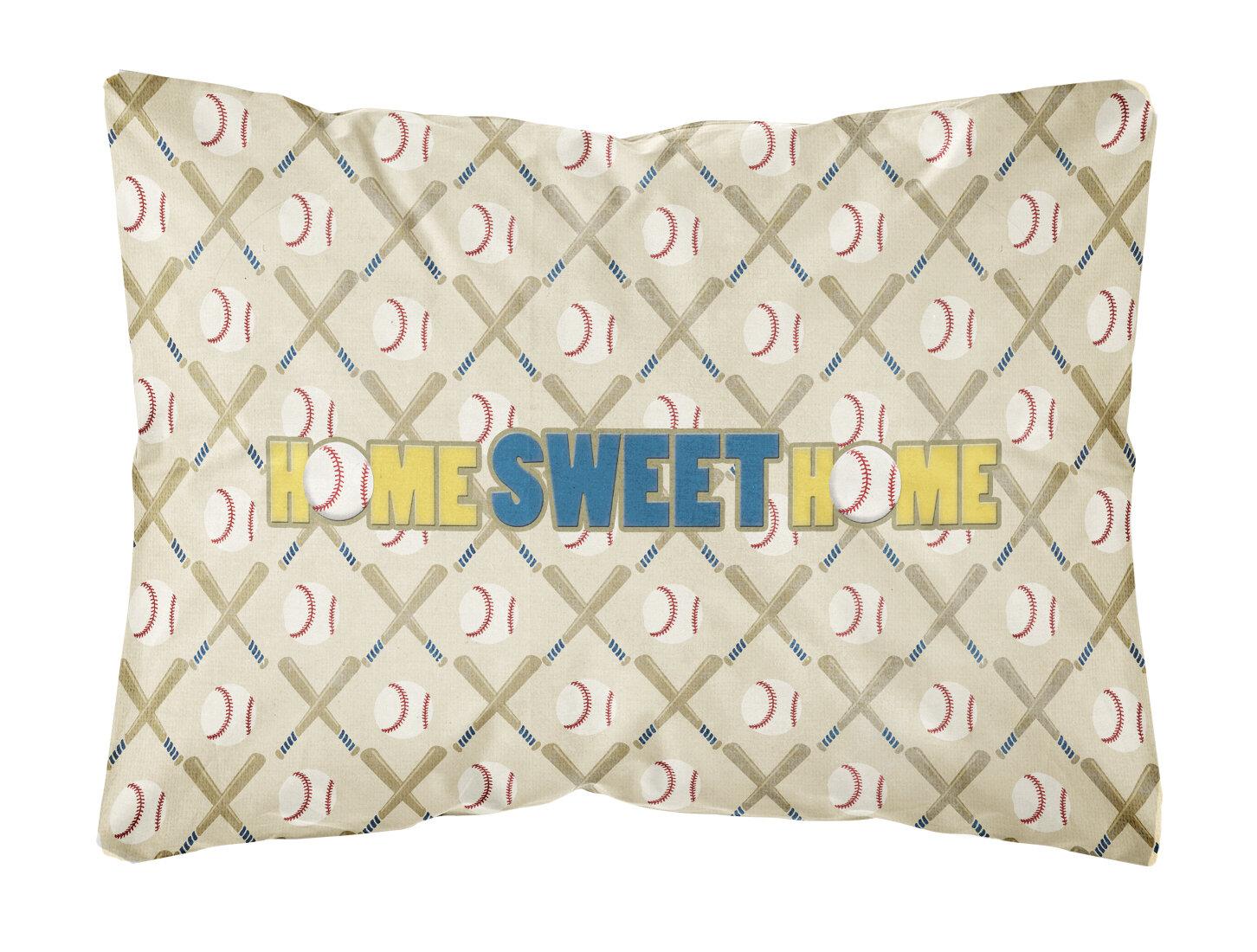 Caroline S Treasures Home Sweet Home Indoor Outdoor Throw Pillow Wayfair
