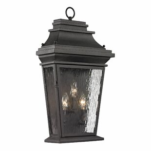 Maxen 3-Light Outdoor Wall Lantern